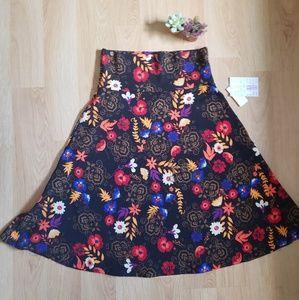 Azure skirt by lularoe NWT sz Medium A line
